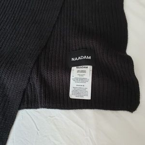 Naadam Cashmere Blend Ribbed Scarf
